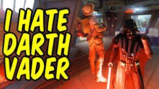 getlinkyoutube.com-How Darth Vader Made Me Rage Quit - Star Wars Battlefront Funny Moments