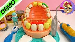 getlinkyoutube.com-รีวิวของเล่นเพลย์โด คุณหมอฟัน ทำฟันปลอมสีทอง | ชวนเล่น ชุดคุณหมอฟัน ถอน, อุด, ใส่ฟันปลอม สนุกสุดๆ