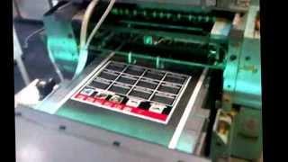 UV and Aqueous coating on Roland Sheet feed offset printing machine - Grafik Machinery