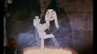 Disney's Snow White And The Seven Dwarfs, Deleted Scenes, The Witch At The Cauldron