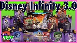 getlinkyoutube.com-Disney Infinity 3.0 Figures!!! Star Wars, Inside Out, and Tron!!! By Bins Toy Bin
