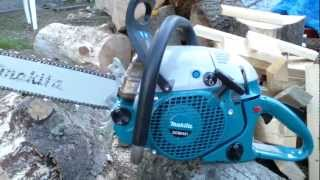 getlinkyoutube.com-Dolmar Makita 8500 Big Bore Chainsaw