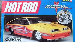getlinkyoutube.com-Model Kit Review - Revell Pontiac Radical J2000 (08.15.14)