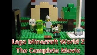 getlinkyoutube.com-Lego Minecraft World 2: The Complete Movie