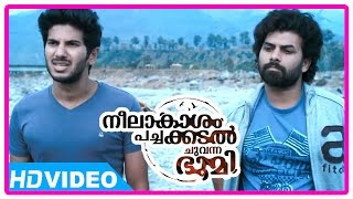 getlinkyoutube.com-Neelakasham Pachakadal Chuvanna Bhoomi Movie | Scenes | Sunny goes back to Ena Saha | Dulquer