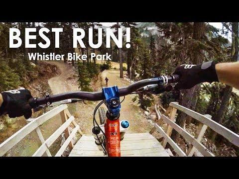 The Best Freeride MTB Line Down Whistler Bike Park - GoPro
