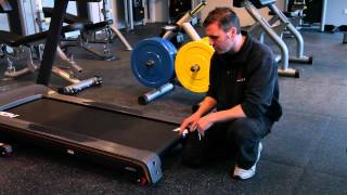 getlinkyoutube.com-Treadmill Repair - How To Adjust A Treadmill Belt