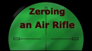 Zeroing an Air Arms S410 Air Rifle