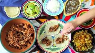 Cómo hacer tacos al pastor - Receta de cocina