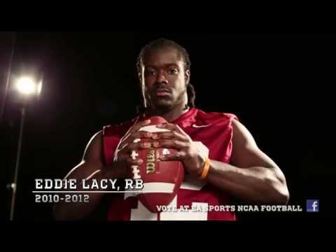 Alabama RB Eddie Lacy wants your NCAA Football 14 Cover Vote!