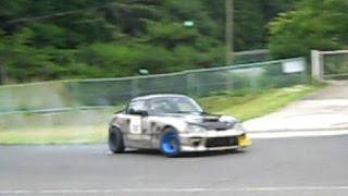 カプチーノ ドリフト The Suzuki Cappuccino Drifting (motorsport)in Autoland TSUKUDE 【Rice Or Nice?】