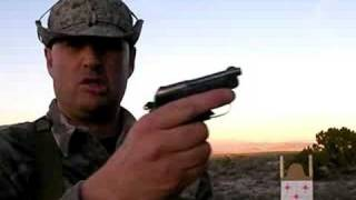 getlinkyoutube.com-Shooting Beretta 950 Jetfire:  Mag Dump