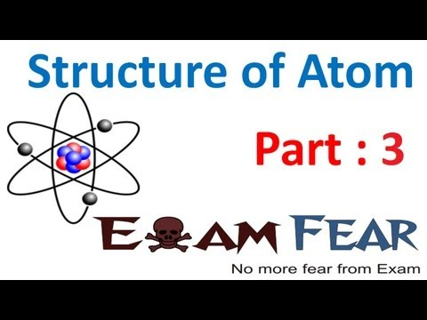 Chemistry Structure of Atom part 3 (Cathode ray tube) CBSE class 11 XI