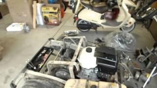 getlinkyoutube.com-Club Car GX420 Engine Swap: Dropping In The New Engine