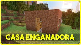 getlinkyoutube.com-Minecraft : A CASA AUTOMÁTICA MAIS ENGANADORA DO MUNDO !!!! (Casa c/ Redstone)