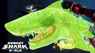 getlinkyoutube.com-Hungry Shark World - New South China Sea Atomic ZOMBIFIED