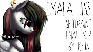 SpeedPaint - FNAF and MLP - Emala Jiss in FNAF