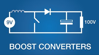 getlinkyoutube.com-Boost Converters (DC-DC Step-Up) - Electronics Intermediate 1