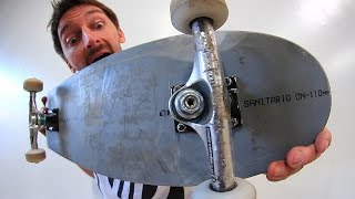 MINI SKATEBOARD MADE OF MELTED PVC | YOU MAKE IT WE SKATE IT EP 81