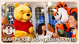 Sean Picks Six Walt Disney World Restaurants   Disney Dining Show   05/25/18