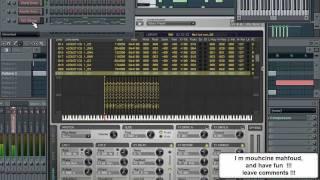 getlinkyoutube.com-Fl Studio - By : Ultrastatic100 مقطوعة موسيقية على مقام عربي