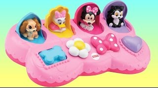 getlinkyoutube.com-Disney Jr. Minnie Mouse Pop Up Surprise with Daisy Duck, Toys, Eggs, Learn Colors / TUYC