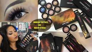 FALL INSPIRED MAKEUP TUTORIAL + UNBOXING CITY COLOR COSMETICS PRODUCTS + SWATCHES!