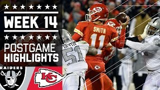 getlinkyoutube.com-Raiders vs. Chiefs | NFL Week 14 Game Highlights