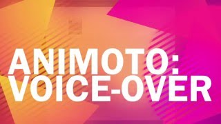 getlinkyoutube.com-Animoto: Voice-Over Tutorial