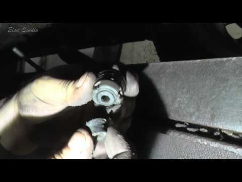 Замена стоек стабилизатора на Dacia Logan (Renault Logan)