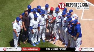 Dexter Fowler receives World Series ring