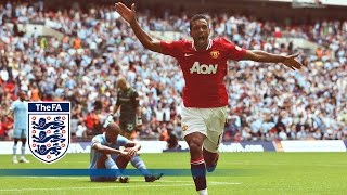 getlinkyoutube.com-Man City 2-3 Man Utd - Community Shield 2011 | Goals & Highlights