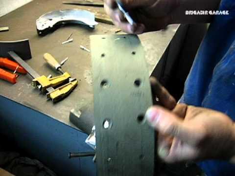 Dadi Shuttle. Реставрація задніх гальмівних колодок Brigadir garage.