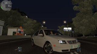 getlinkyoutube.com-City Car Driving 1.5.2 VW Volkswagen Bora NIGHT [G27]
