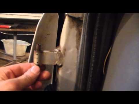Замена пальцев дверных петель №14