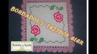 getlinkyoutube.com-BORDADO EN PUNTO DE CRUZ
