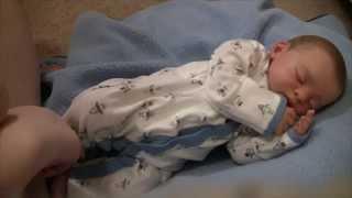 getlinkyoutube.com-Reborn baby Sawyer's first night home!