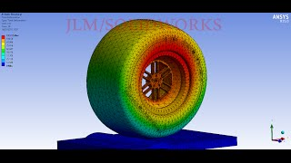 getlinkyoutube.com-Ansys Tutorial static structure analysis F1 wheel