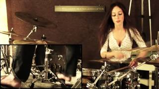 getlinkyoutube.com-Meytal Cohen   Toxicity by System Of A Down   Drum Cover