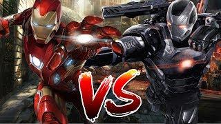 getlinkyoutube.com-Iron Man vs War Machine | Who Wins?
