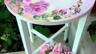 getlinkyoutube.com-How to Paint a beautiful Shabby Rose