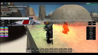"getlinkyoutube.com-SWA (Star Wars Awakening) Roblox ""part 1"" The Apprentice"""