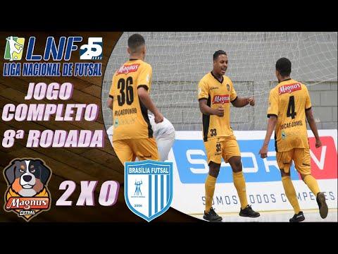 JOGO COMPLETO: Magnus Futsal 2 x 0 Brasília Futsal – 8ª Rodada LNF 2020 (19/09/2020)