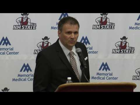 NM State Men's Basketball - Chris Jans Announcement