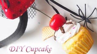getlinkyoutube.com-DIY Trick or Treat Cup Cake Squeeze 食べられないカップケーキ