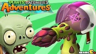 getlinkyoutube.com-Plants vs Zombies Adventure - Plant UNLOCKED (Acespearagus) PVZ on Facebook Walkthrough Part 7