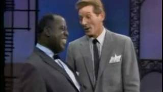 "getlinkyoutube.com-Louis Armstrong & Danny Kaye, ""When The Saints Go Marching In"""