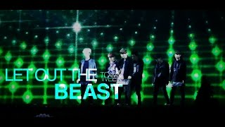 "getlinkyoutube.com-[LIVE] EXO「Let Out The Beast」Special Edit. from SMTOWN WEEK ""Christmas Wonderland"""