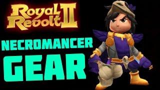 ROYAL REVOLT 2 - NECROMANCER GEAR GAMEPLAY