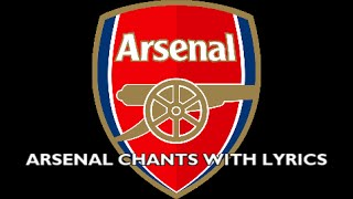 getlinkyoutube.com-Arsenal Chants With Lyrics